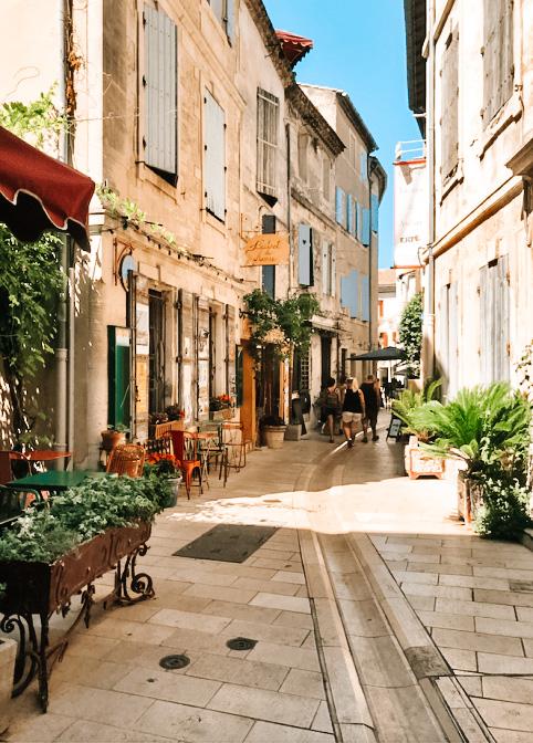 Vivre à Saint Rémy de Provence